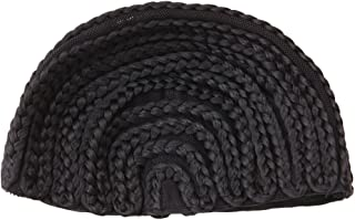 Delight eShop 1Pc Cornrow Wig Caps For Making Wigs Adjustable Braided Wig Weaving Lace Cap New