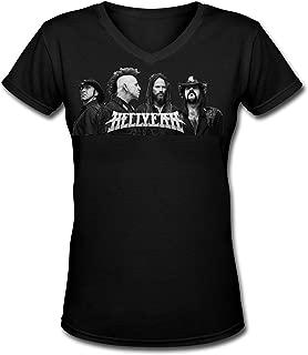 Fashion Hellyeah.PNG T Shirt for Women&Lady Black