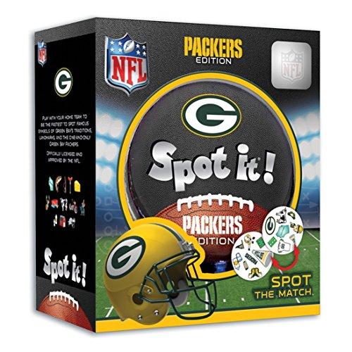 Green Bay Packers Spot It!, Multi, One Size, Model: 41751