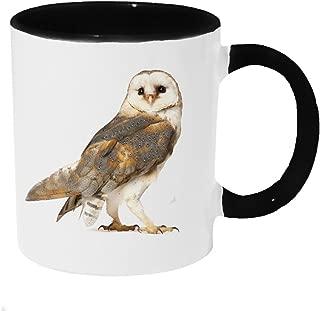 Curious Barn Owl Coffee or Tea 11oz Mug - Perfect Gift for Owl and Nature Lovers
