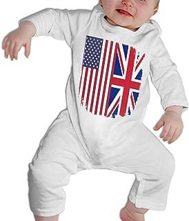 Clarissa Bertha Watercolor Retro Reggae Toddler Baby Girls Short Sleeve Ruffle T-Shirt