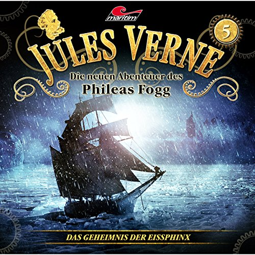 Das Geheimnis der Eissphinx Audiobook By Markus Topf, Dominik Ahrens, Jules Verne cover art