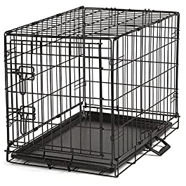 Guardian Gear ProSelect Easy Dog Crates for Dogs and Pets – Black