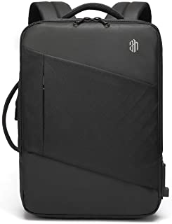 Professional Business Travel Backpack, Laptop Bag with USB Charging Port and Headphone Jack for Men Women, Anti Theft Wate...