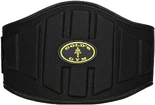 """God's Gym Back Support Belt - 8"""""""""""""""", Black"""