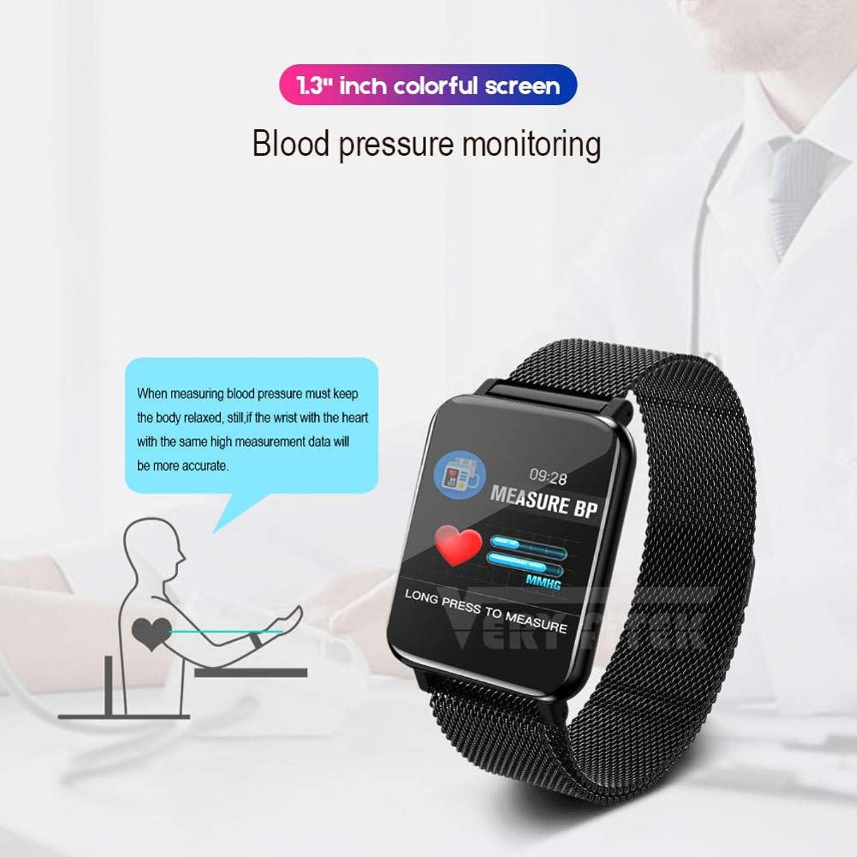 FRWPE Smart Watch Blautdruck Pulsmesser Frauen Mnner Uhr Sport Fitness Tracker Smartwatch Für Android IOS