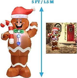 Best outdoor light up gingerbread house Reviews