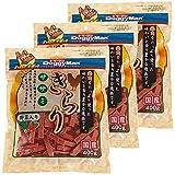 ドギーマン 犬用おやつ きらり ササミ 野菜入り チキン 400g×3個 (まとめ買い)