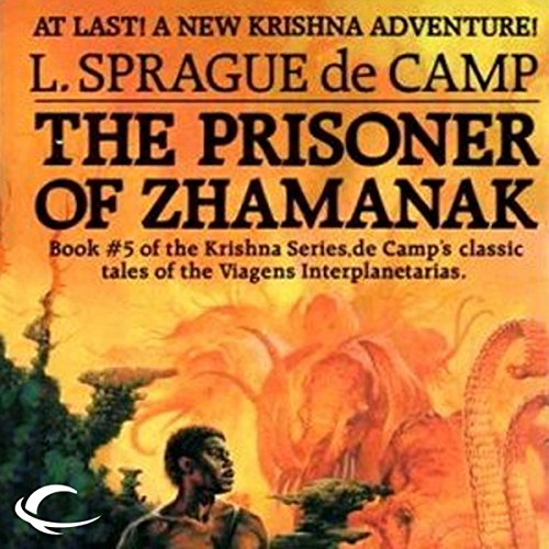 The Prisoner of Zhamanak audiobook cover art