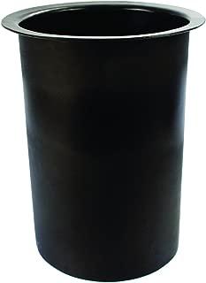Hawkeye Catch Cover CC05-B-18 18-Inch Hole Sleeve, Black