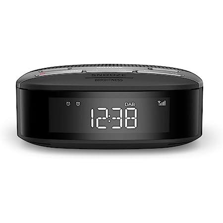 Philips Audio Radiowecker Radio Dab Doppelter Alarm Sleep Timer Kompaktes Design Dab Ukw Digitalradio Automatische Zeitsynchronisierung Batteriesicherung 2020 2021 Modell Tar3505 12 Heimkino Tv Video