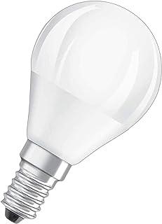 MUNDDY - Bombilla LED casquillo pequeña Esférica E14, 3W 4W 5W 6W 7W 8W, Blanco frío 6000K,Blanco Cálido 3000K [Clase de eficiencia energética A+] (3000k Blanco Cálido, 3W (casquillo pequeño))