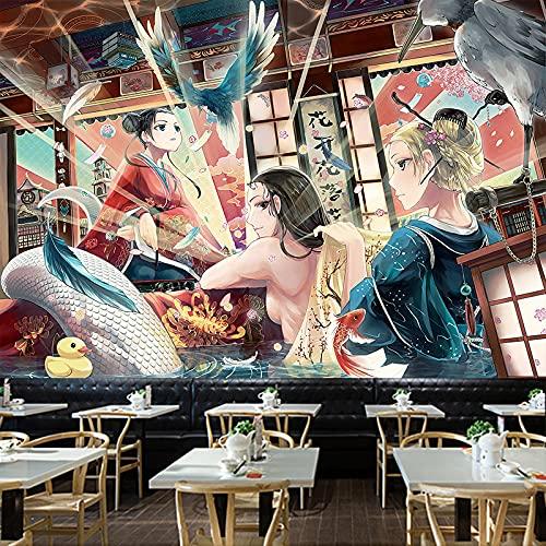 CYYyang Tienda de Tatuajes Mural Patrón Pared Paño Fondo Paño Pared