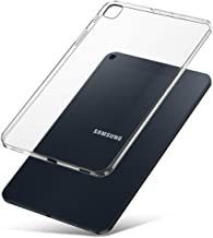 J&D Case Compatible for Galaxy Tab A 2019 Case, [Slim Cushion] [Lightweight] [Transparent] Slim Clear TPU Rubber Back Cover for Samsung Galaxy Tab A 10.1 2019 T510 Case Clear - Not for Tab A 10.1 2016