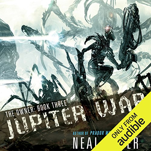 Jupiter War     The Owner, Book 3              By:                                                                                                                                 Neal Asher                               Narrated by:                                                                                                                                 John Mawson,                                                                                        Steve West                      Length: 16 hrs and 10 mins     220 ratings     Overall 4.6