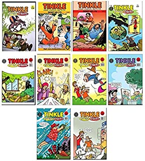 Best of Tinkle Single Digest : Pack of 10 Paperback – January 1, 1980
