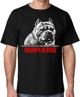 Men's Pitbull Dangerous Breed Tee Shirt