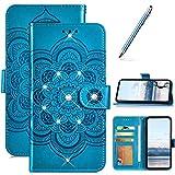 Robinsoni Custodia Compatibile con Samsung Galaxy Note 9 Cover Portafoglio Custodia Libro ...
