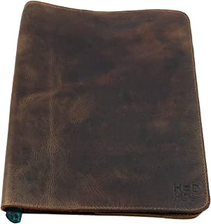 a4 leather book cover