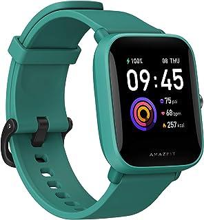 "Amazfit Bip U Smartwatch Fitness Reloj Inteligente 60+ Modos Deportivos 1.43"" Pantalla táctil a Color Grande 5 ATM (SpO2) ..."