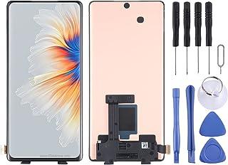 Mobile Phone LCD Screen AMOLED LCD-skärm och digitizer Fullständig montering för Xiaomi Mi Mix 4 Phone Accessories