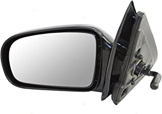 Aftermarket Replacement Drivers Manual Remote Side View Mirror Compatible with 95-05 Cavalier Sunfire Sedan 10362467