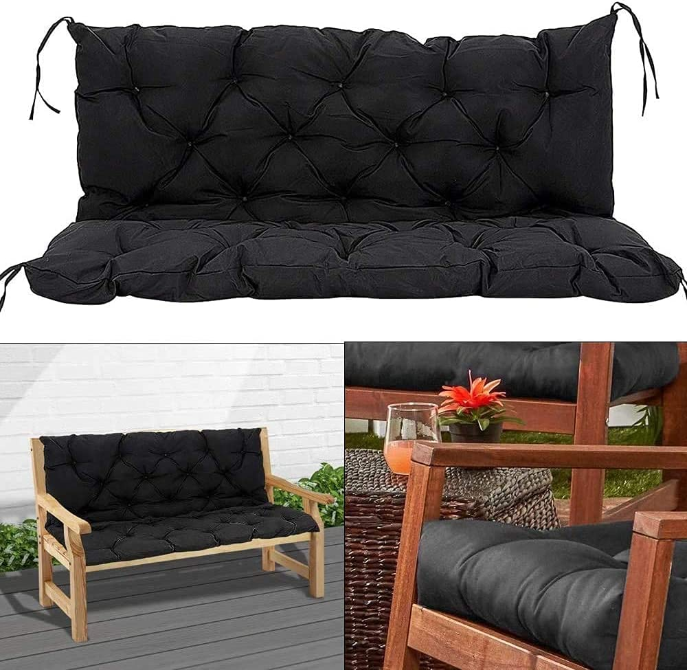 CINGO Outdoor Patio Bench Lounger with Cushion Very popular! Backre Recliners Max 58% OFF