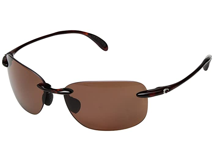 Costa  Sea Grove (Tortoise Frame/Copper 580P) Athletic Performance Sport Sunglasses