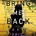 Page de couverture de Bring Me Back