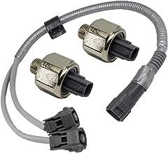 89615-12090 2Pcs Detonation Knock Sensor & Harness 89615-12050 for Toyota Lxus Avalon Camry ES300(KS159 with Wiring)