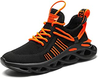 Hombre Zapatillas Moda Sneaker EntrenadorTranspirable Zapatos Casuales para Caminar al Aire Libre