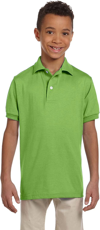 SpotShield Jersey Polo (437Y) Kiwi Green, XL