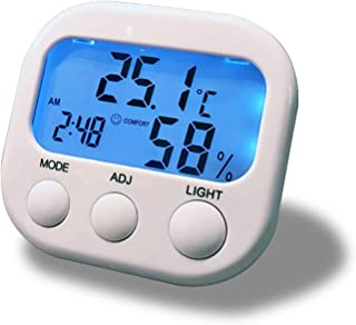 Thermometer Hygrometer Thermometer Backlight Indoor Thermometer Hygrometer Newborn Home Thermometer and Hygrometer Home Ba...