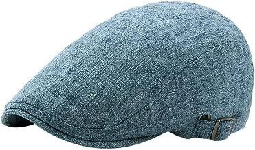 CapsA Wool Tweed Flat Cap Herringbone Boy Men Newsboy Caps Youth Beret Hat Ivy Gatsby Cap Solid Vintage Adjustable Gatsby Peaked Cap Newsboy Beret Hat