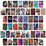 BeYumi 50 Stück Vintage ästhetische Bild Collage Kit,