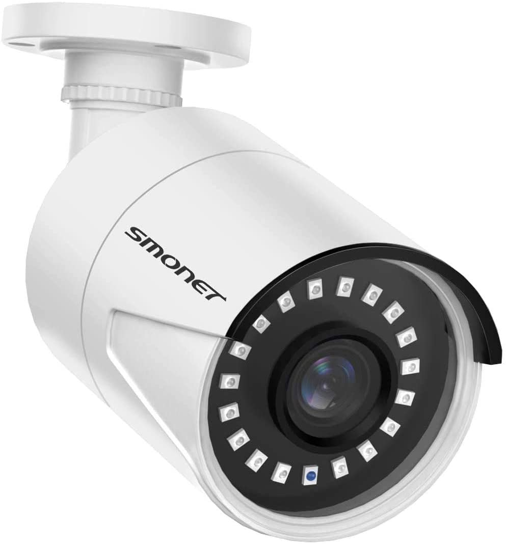 5MP POE Security Camera SMONET Outdoor Night Vision Cheap mail order specialty Attention brand store IP