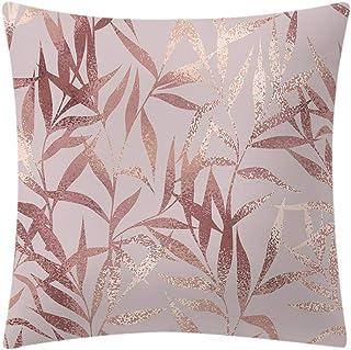 wuayi  Taies doreiller de No/ël Housse de Coussin d/écorations Oreiller carr/é 45cm x 45cm Throw Coussins Couvre Pillow Case Salon Un canap/é Rouge Joyeux Noel