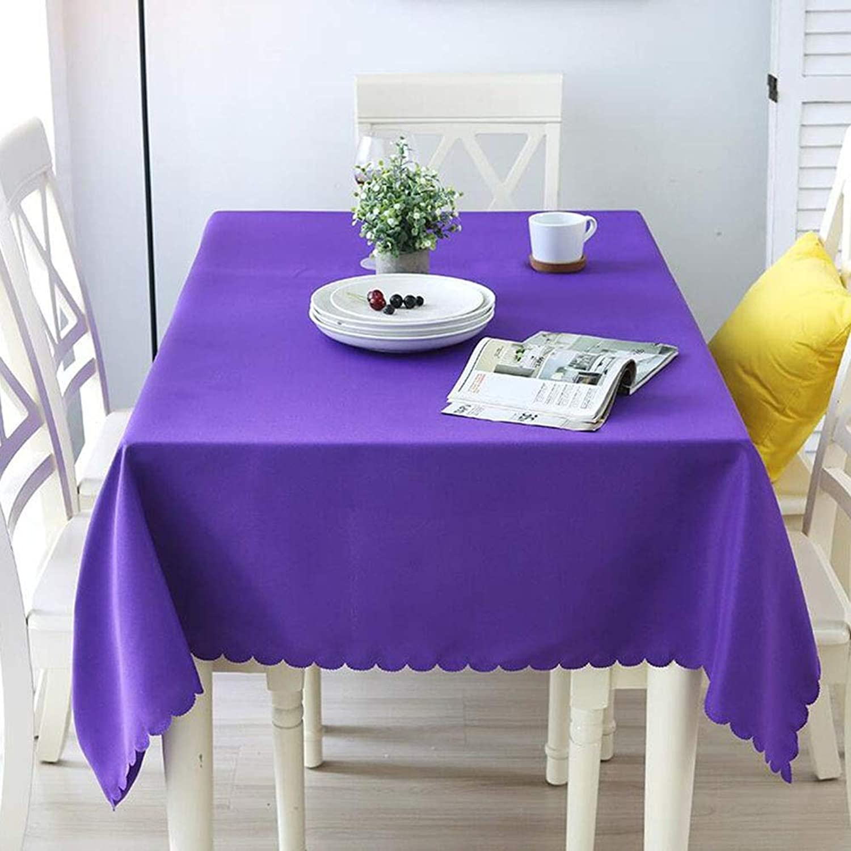 Size Purple, (color Tablecloth Picnic Dinner Decoration Home