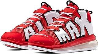 Nike Men Air More Uptempo 720 QS 2 University Red/White-Black Size 9