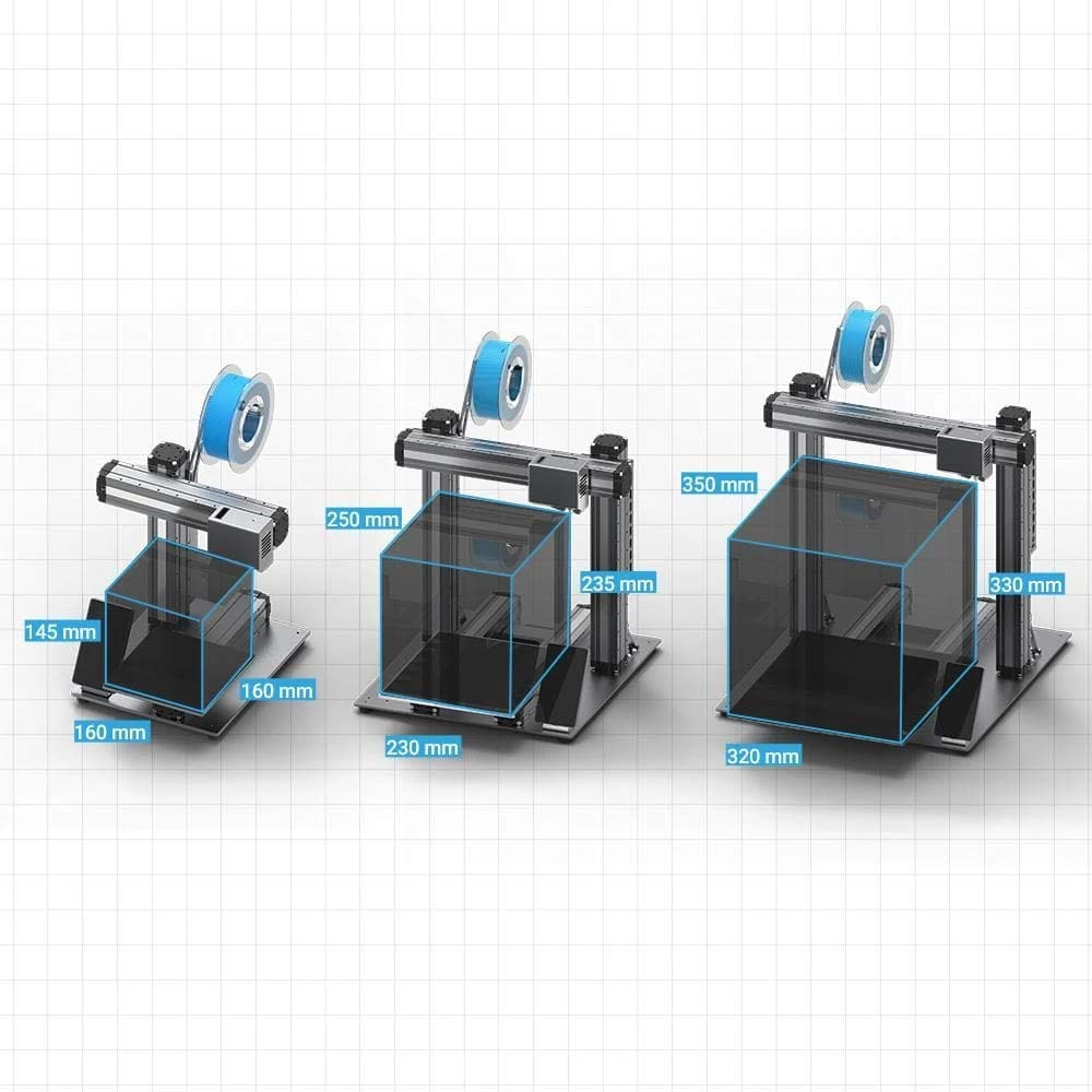 Auto-Leveling Snapmaker 2.0 Modular 3-in-1 3D Printer Laser ...