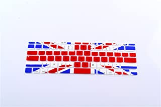 PapyHall Colorful Silicone Protector Keyboard Cover Skin for Apple MacBook Air 11 inch Keypad Dust-Proof Membrane - UK Flag