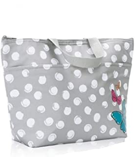 Thirty One Thermal Tote Butterfly Swirl Dot