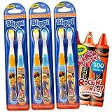 Blippi 6-Pack Toothbrush Bundle ~ Kids Soft...