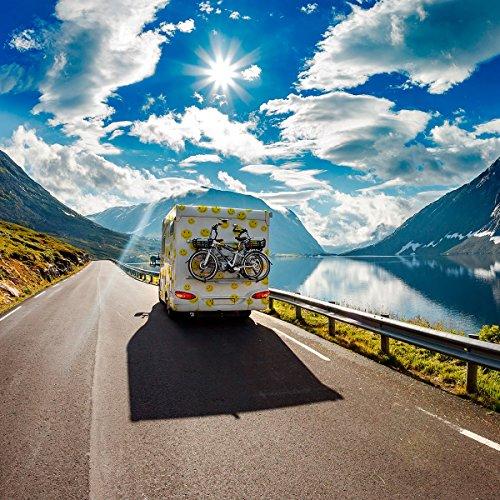 TomTom Campervan and Caravan Sat Nav GO Camper with Campervan and Caravan POIs, Updates via Wi-Fi, Traffic and Speedcam Warnings via SIM Card, World Maps