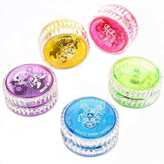 Angel Beginner Level The YoYo - with a Includes Auto Return Technology - High Speed Rotation Will Turn on The Light (2Pcs ...