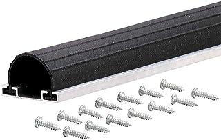 M-D Building Products 87643 9-Feet Universal Aluminum and Rubber Garage Door Bottom, Black