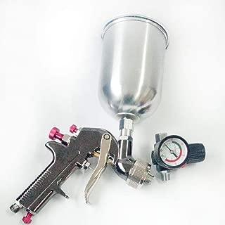 2.0mm HVLP Gravity Feed Air Spray Gun Kit Auto Car Detail Touch Up Paint Sprayer Spot Repair 600cc