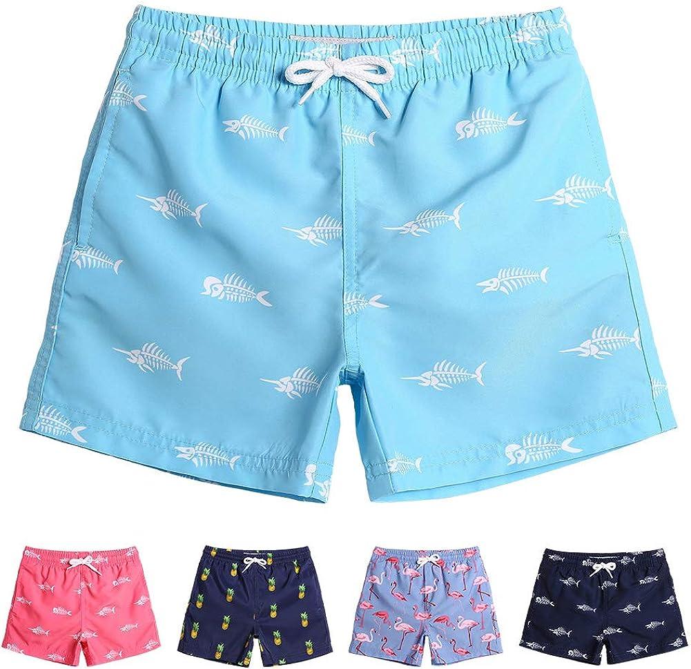 maamgic Boys Swim Trunks Toddler Swim Shorts Little Boys Bathing Suit Swimsuit Toddler Boy Swimwear