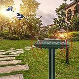 Repelente Ultrasónico para Animales, Solar Ahuyentador de Topos Solar para Gatos, Ratas, Perros, Aves, Zorros y otros, Outdoor Repeller