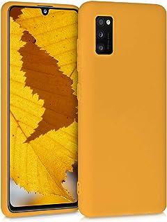 kwmobile telefoonhoesje compatibel met Samsung Galaxy A41 - Hoesje voor smartphone - Back cover in honinggeel